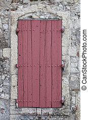 Window shutters exterior