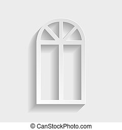 Window simple icon