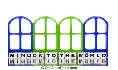 Window to the world with frames