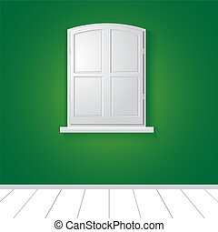 Window. Vector illustration