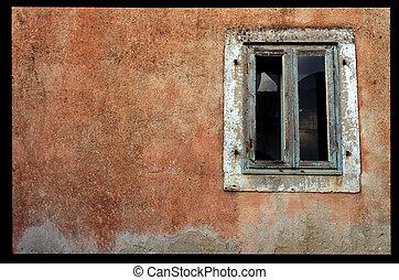 window, wall
