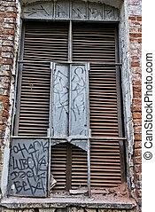 Window with a lattice