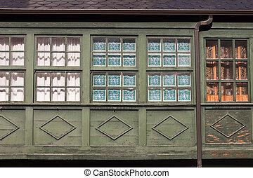 windows., γριά , γκαλερί