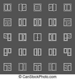 windows , μικροβιοφορέας , γραμμικός , απεικόνιση