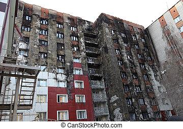 windows after fire