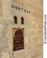 windows, alhambra, arched