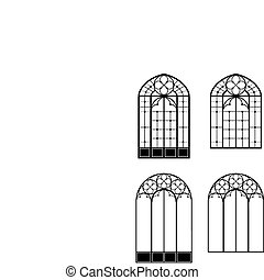 Windows and door-windows - windows and door-windows, two...