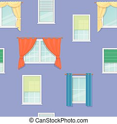 windows curtains seamless background