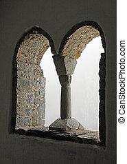 windows, desconocido, estilo, gótico