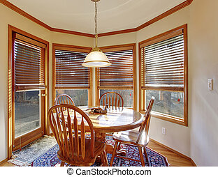 windows., dinning, szoba, másodlagos