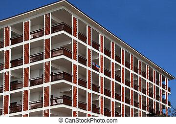 Windows in a high-rise building