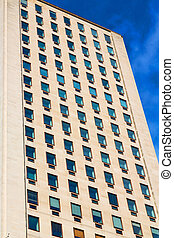 windows in the city of london   skyscraper  building