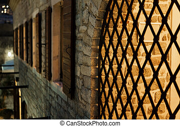 old town in Budva, Montenegro