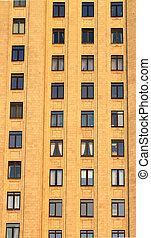 windows, in, wand, von, a, groß
