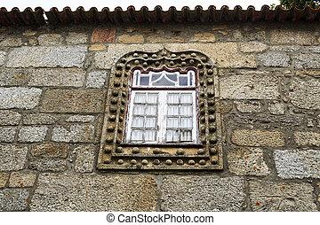 windows, manueline, calles, estrecho