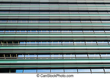 Windows modern business commercial office building