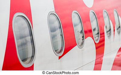 windows, motorflugzeug
