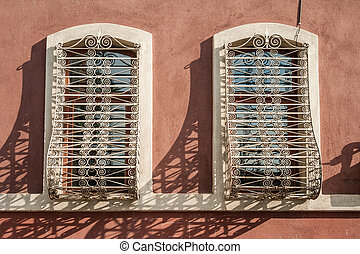 Windows of a Traditional Turkish House