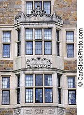 Windows Of Historic Building