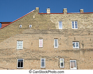 Windows of old town