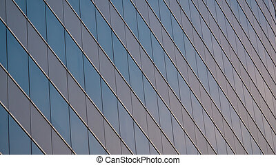 Windows of Skyscraper Business Office pattern on surface for background