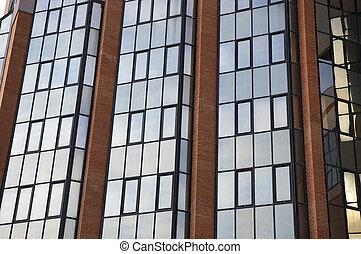 windows of the sky-scraper