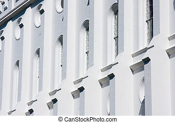 Windows of the St. George Utah Temple