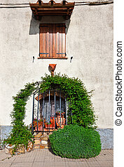 Windows of Tuscany - Window on the Facade of the Restored ...