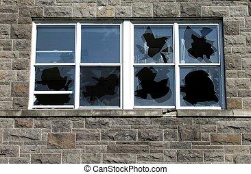 windows, törött