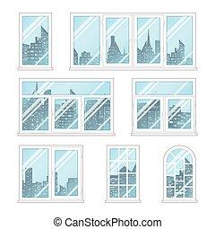 Windows wit city