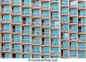 windows with balcon