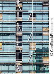 windows, y, escalera