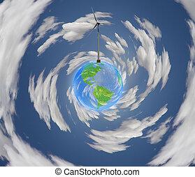 windpower, tierra