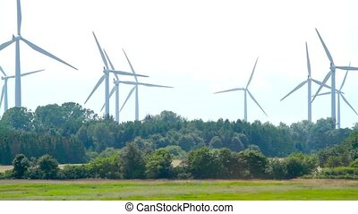 Windpower turbines