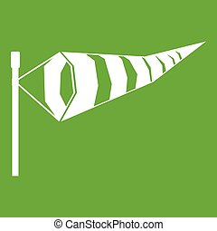 Windsock icon green