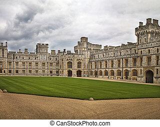 Windsor Castle Courtyard