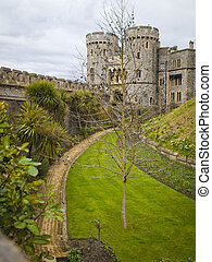 Windsor Castle Gardens and Towers