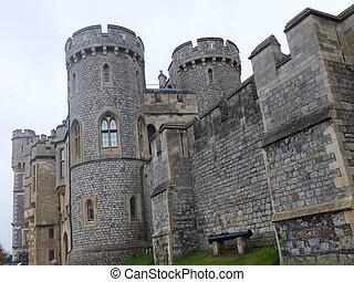 Windsor Castle in England