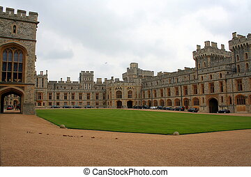 Windsor Castle, in Windsor in the English county of...