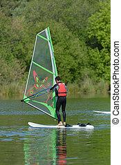 windsurf, homem
