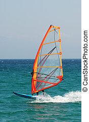 windsurfer, handlung