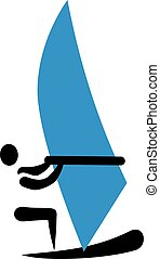 Windsurfer icon