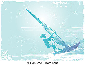 Windsurfing Clipart And Stock Illustrations 2632