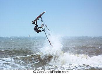 windsurfing, extremo