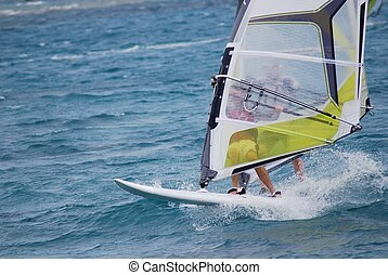 windsurfing, flytte