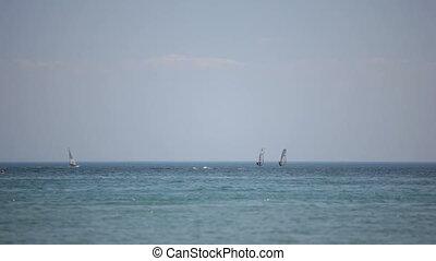 Windsurfing - Windsurf. Black Sea. Locked down, HD1080 - 30p