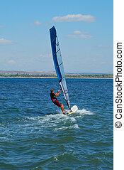 windsurfista