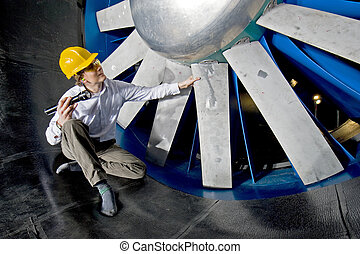 windtunnel, inspection