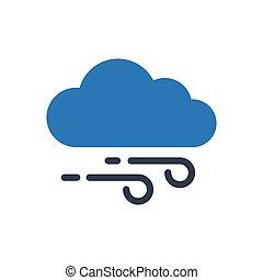 windy  glyph color icon