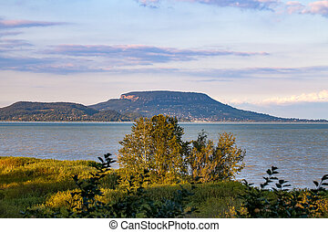 Windy lake Balaton - Beautiful picture of the hungarian lake...